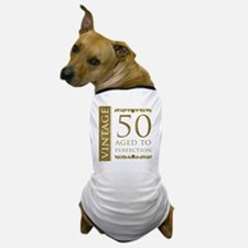 Fancy Vintage 50th Birthday Dog T-Shirt
