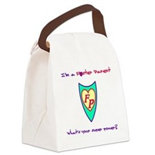 What's your super power? Canvas Lunch Bag