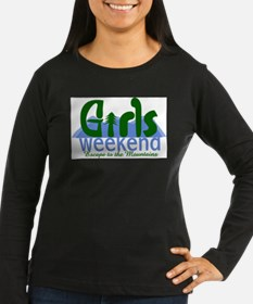 Mountain Girls Weekend Long Sleeve T-Shirt