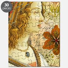 Simonetta Vespucci and Sandro Botticelli Puzzle