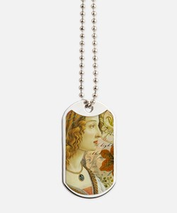 Simonetta Vespucci and Sandro Botticelli Dog Tags