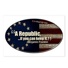 A Republic Postcards (Package of 8)