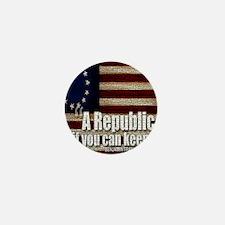 A Republic Mini Button