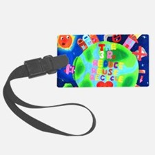Love mother earth the 3Rs Luggage Tag