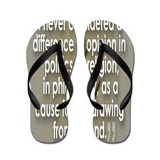 A Difference of Opinion Flip Flops