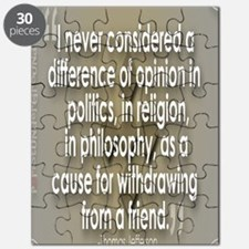 A Difference of Opinion Puzzle