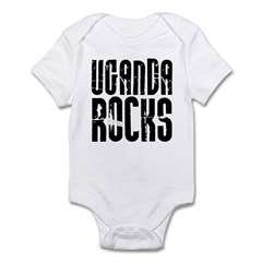 Uganda Rocks Infant Bodysuit