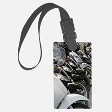 Bikes Parked Luggage Tag