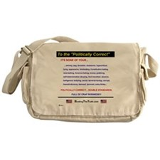 Anti-Political Correctness - Messenger Bag