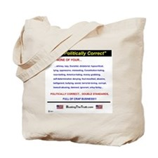 Anti-Political Correctness - Tote Bag