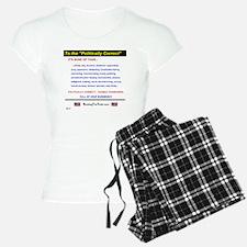 Anti-Political Correctness  Pajamas