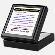Anti-Political Correctness - Keepsake Box