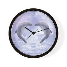 dk_large_wall_clock_hell Wall Clock