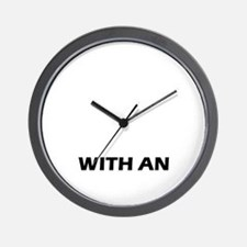 Life is better with an Irish Water Span Wall Clock