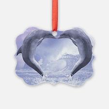 dk_ Rectangular Canvas Pillow Ornament