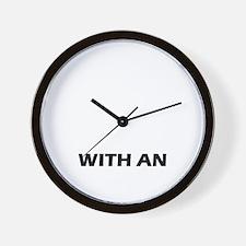 Life is better with an Otterhound Wall Clock