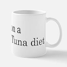 Yellowfin Tuna diet Mug