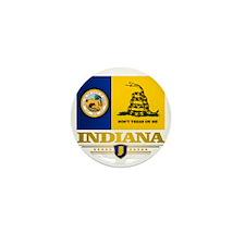 Indiana Gadsden Flag Mini Button