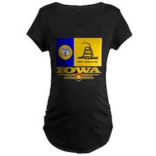 Iowa Gadsden Flag T-Shirt