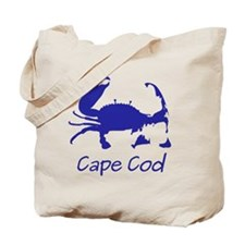 Blue Crab, Casual Solid Tote Bag