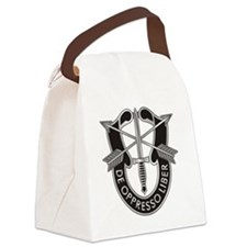Special Forces Crest Canvas Lunch Bag