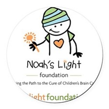 Noah's Light Foundation Round Car Magnet