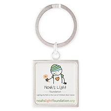 Noah's Light Foundation Square Keychain