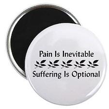 Pain Is Inevitable Magnet