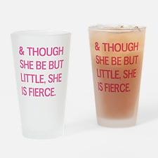 Fierce Drinking Glass