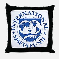 International Mafia Fund Throw Pillow