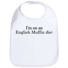 English Muffin diet Bib
