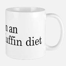 English Muffin diet Mug