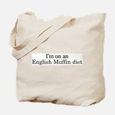 English Muffin diet Tote Bag
