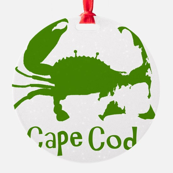 Green Crab, Kids Solid Round Ornament