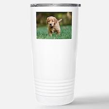 Puppy-Golden Retriever Travel Mug