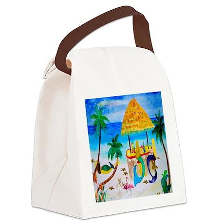 Mermaids Tiki Bar Canvas Lunch Bag