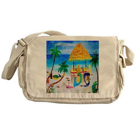 Mermaids Tiki Bar Messenger Bag