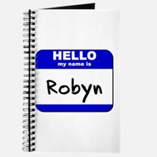 hello my name is robyn Journal