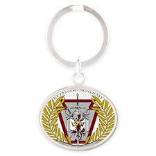 KADS LOGO light Oval Keychain