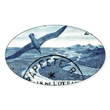 1948 French Polynesia Seabird Posta Decal