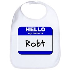 hello my name is robt  Bib