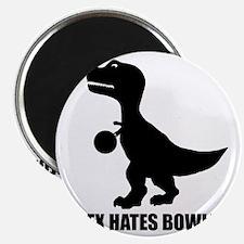 T-Rex Hates Bowling-1 Magnet