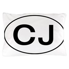 Jeep CJ Oval Pillow Case