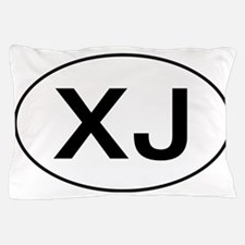 Jeep XJ oval Pillow Case