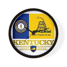 Kentucky Gadsden Flag Wall Clock