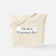 Hummus diet Tote Bag