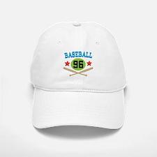 Baseball Player Number 96 Baseball Baseball Cap