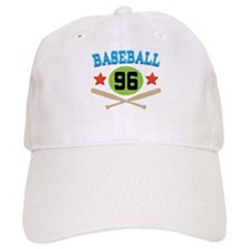 Baseball Player Number 96 Baseball Cap