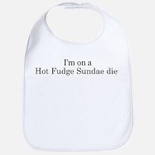 Hot Fudge Sundae diet Bib