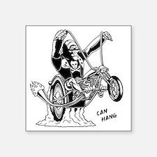"ape-hangin2-LTT Square Sticker 3"" x 3"""